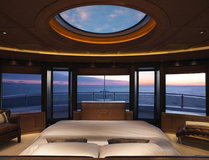 Master Stateroom - Panoramic View Sunset