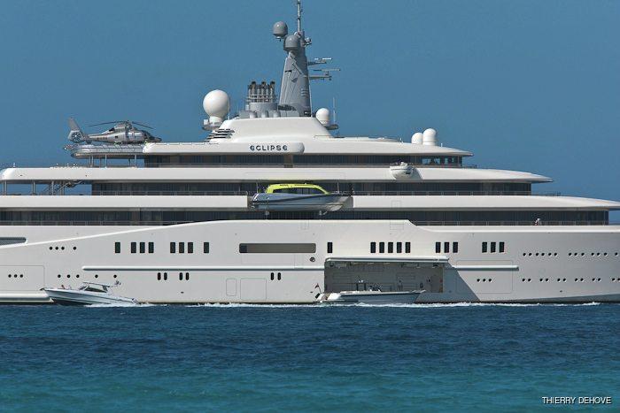 ECLIPSE Yacht - Blohm + Voss | Yacht Charter Fleet