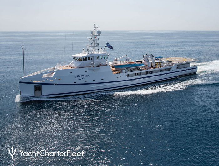 Garcon yacht damen yacht charter fleet