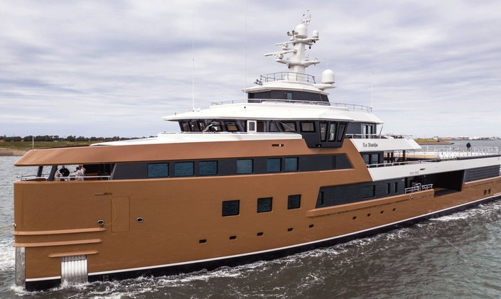 Delivered: Explorer yacht 'La Datcha'