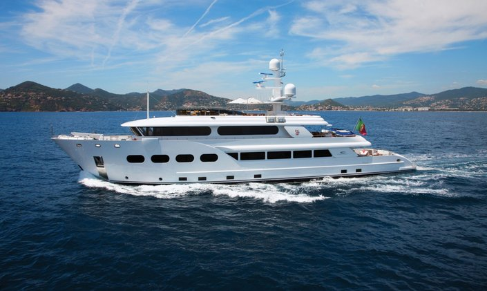 Last chance to charter 44m expedition yacht BARON TRENCK  this summer