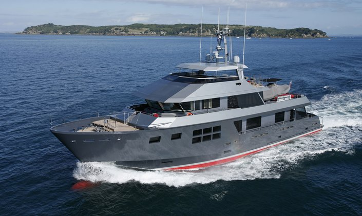 Award-winning M/Y AKIKO available to charter in Australia