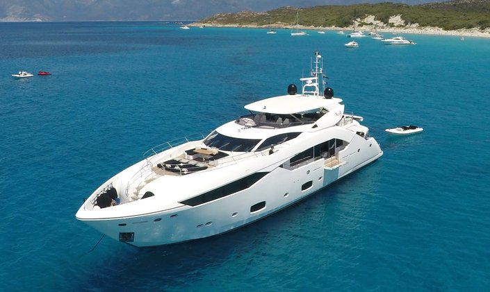 East Mediterraneran yacht charter special with superyacht 'No. 9 of London'