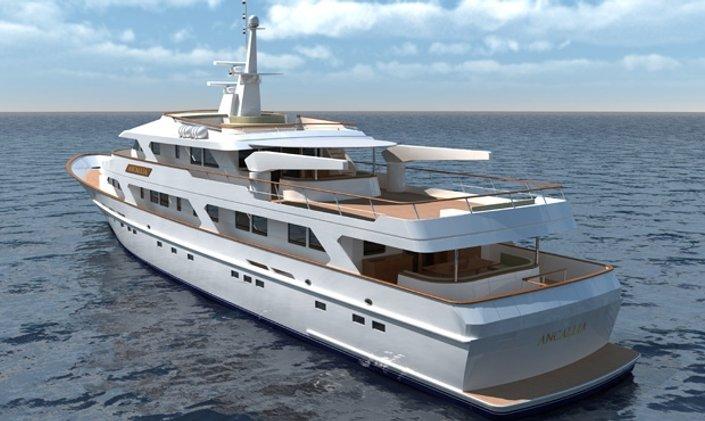 Rebuilt Superyacht ANCALLIA Now for Charter