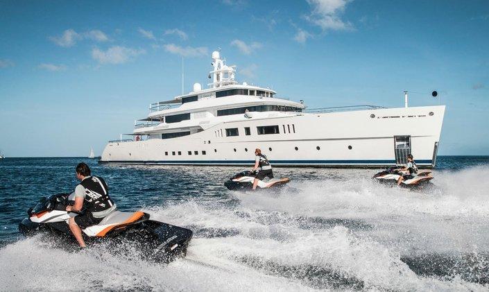 Picchiotti charter yacht 'Grace E' renamed M/Y NAUTILUS