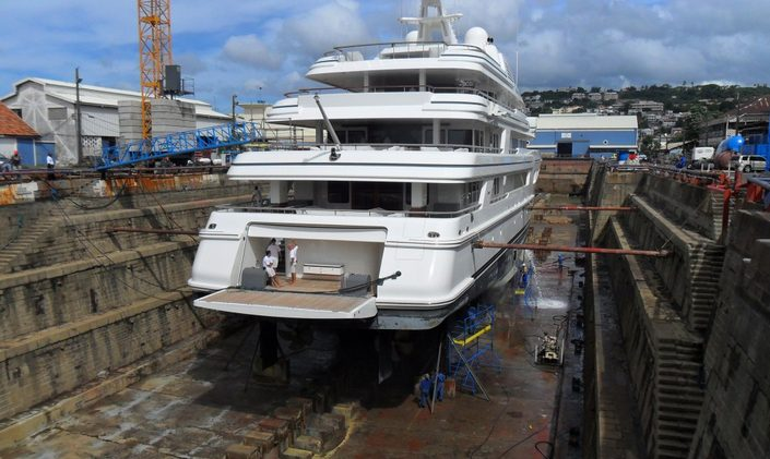 Caribbean Dry Dock Facility Opens Up