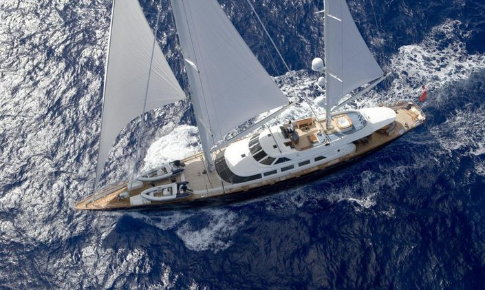 S/Y ANTARA Undergoes Refit Ahead Of Summer