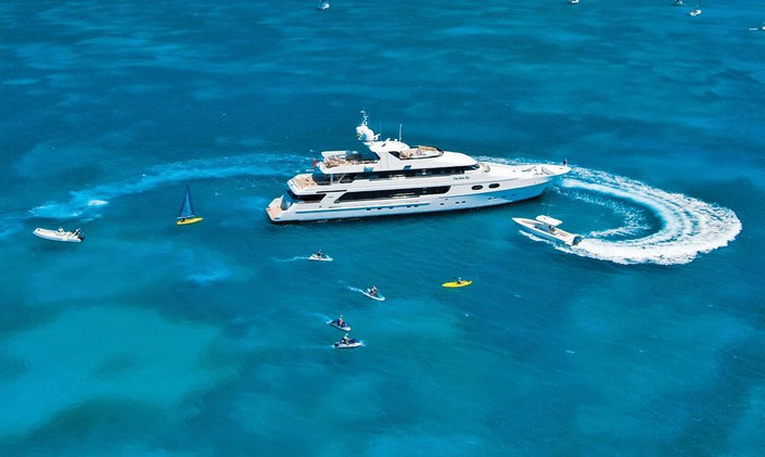 M/Y 'One More Toy' accepting offers on Caribbean charters