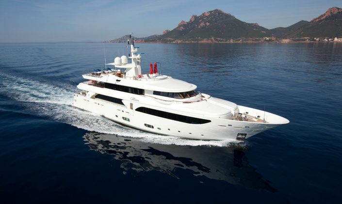M/Y 'Emotion 2'  available for Greece yacht charters in summer 2020