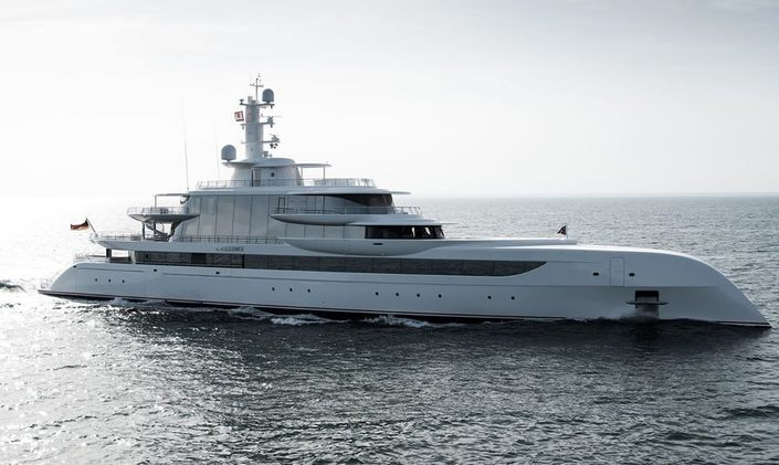 80m superyacht EXCELLENCE joins charter market