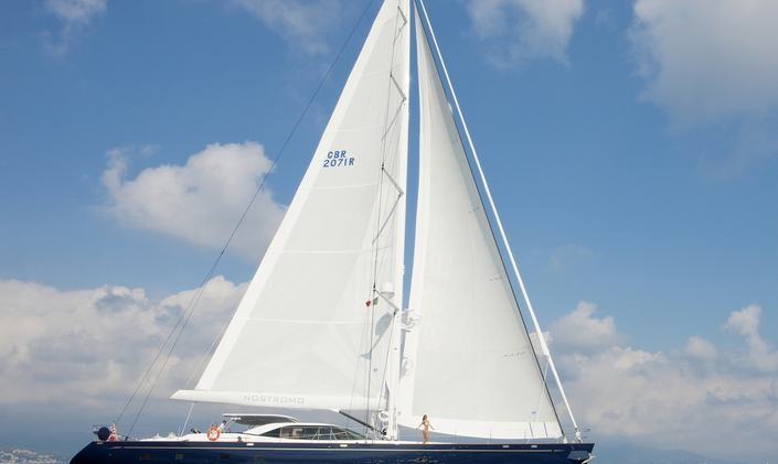 S/Y NOSTROMO Available for Baltic Sea Charters