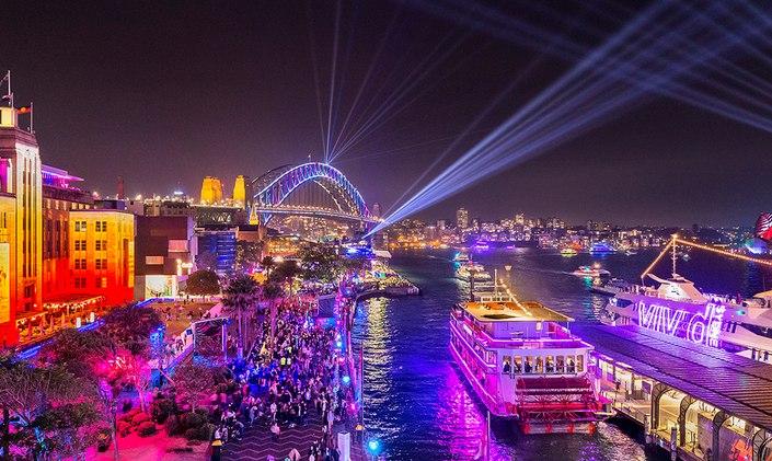Vivid Sydney Yacht Charter