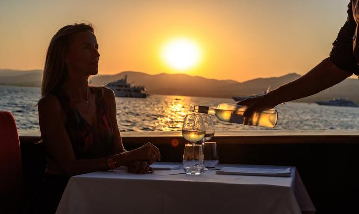 Exclusive restaurant concept launched on board superyacht in St Tropez