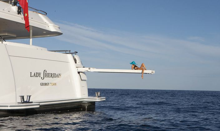 Mediterranean yacht charter special announced with superyacht 'Lady Sheridan'