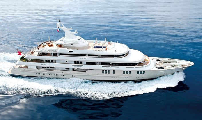 Reduced Charter Rates on Motor Yacht Reborn