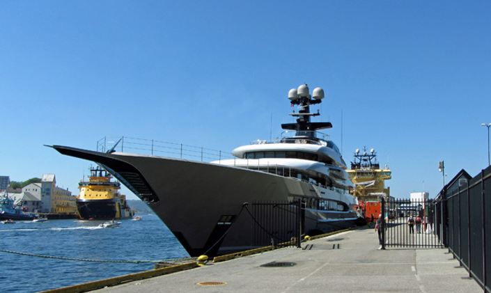 Lurssen M/Y KISMET Cruises In Norway