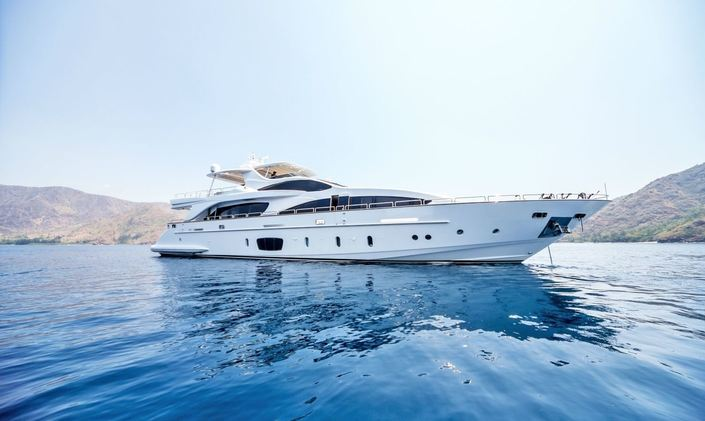 M/Y 'Antonia II' Joins Charter Market in the Philippines