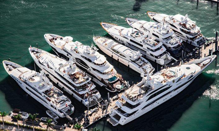 Miami International Boat Show 2020.2019 Yacht Shows Boat Shows Yacht Charter Fleet