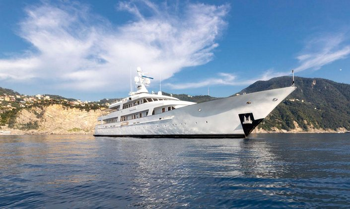Yacht charters in Greece now available with 61m superyacht ITOTO