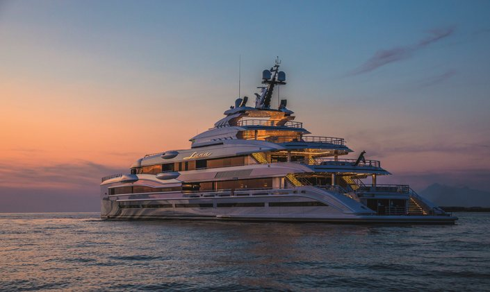 Benetti charter yacht LANA scoops up award at World Yacht Trophies in joint win