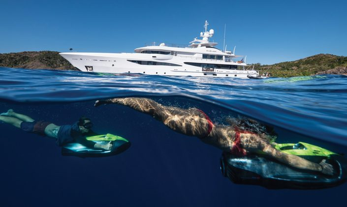 Amels M/Y DRIFTWOOD enters the charter market