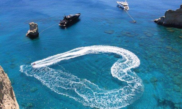 Greek charter yacht Mabrouk & O'Pati