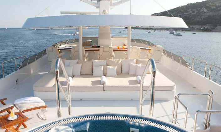 Special offer on Italy yacht charters with M/Y 'Azzurra II'