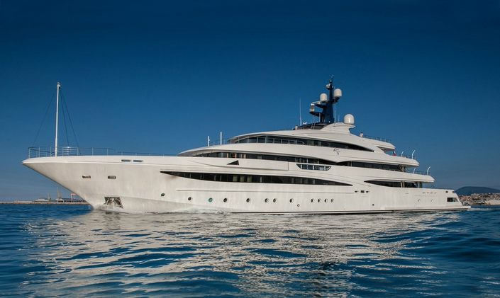 74m CRN M/Y ODYSSEY rejoins the charter fleet