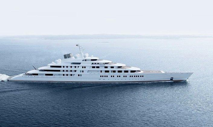 World's Largest Yacht AZZAM