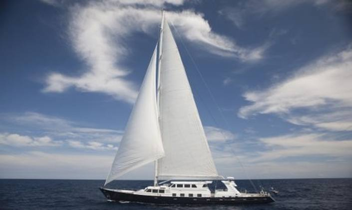 Sailing Yacht MILO in the Caribbean