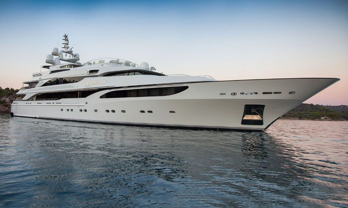 M/Y 'Lioness V' available for Caribbean yacht charter in March 2020
