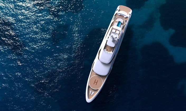 New video paints a picture of tranquility on M/Y O'PTASIA