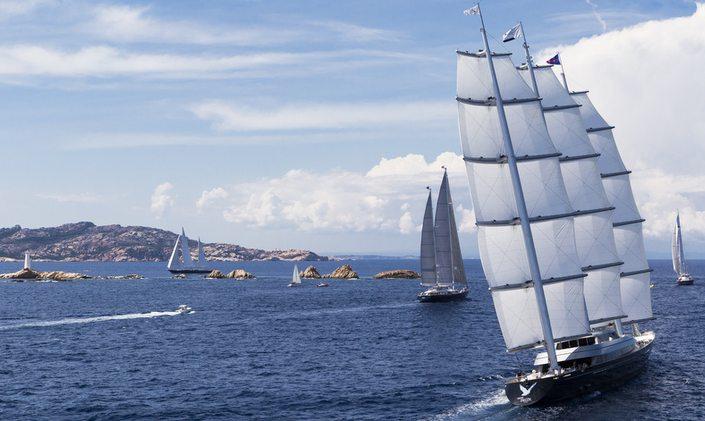 Yachts Enrol for Perini Navi Cup