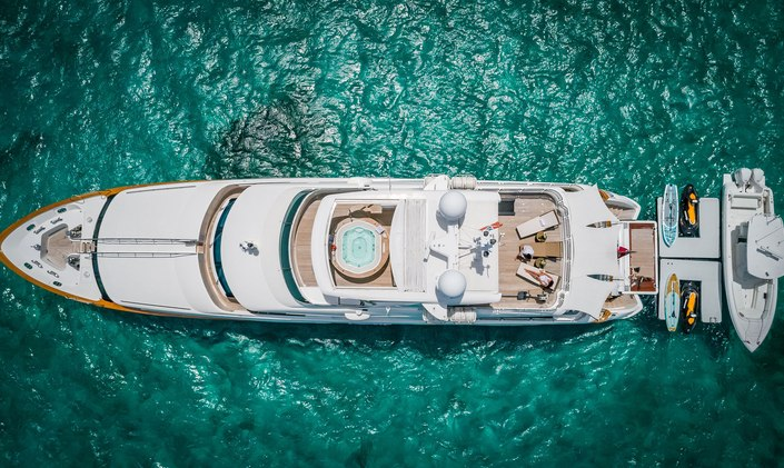 Bahamas charter special: M/Y Namaste offers discounted rate for April and May