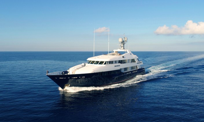 50m Feadship superyacht PICNIC available to charter in the Caribbean