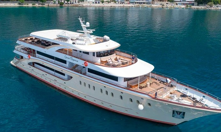 49m superyacht QUEEN ELEGANZA now available to charter
