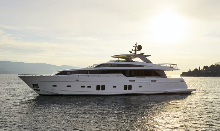Brand new M/Y DINAIA opens for Greece yacht charters