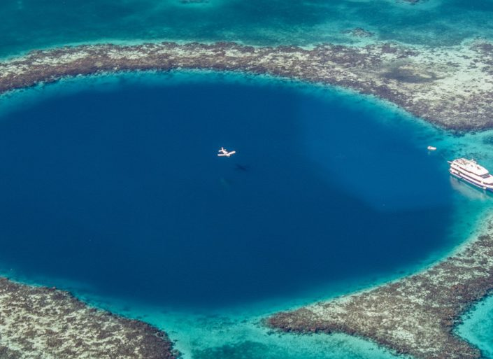 Deep blue: Where to dive in blue holes around the world