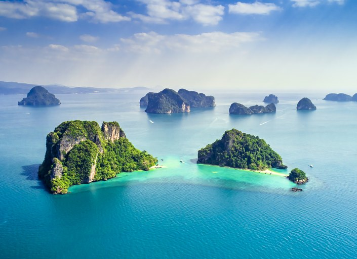 Find the perfect island for your next superyacht charter in Thailand