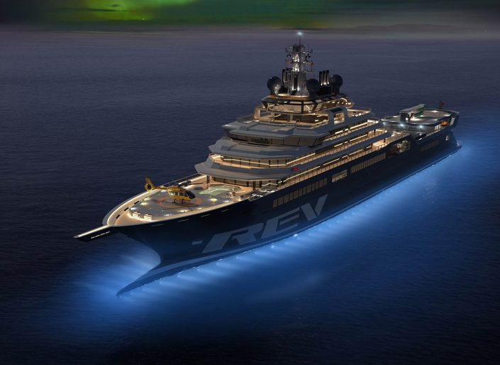 World's biggest yacht: 8 of the best features on board expedition superyacht REV