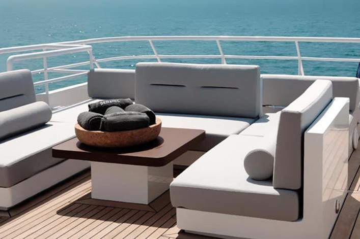 Berzinc Deck Seating