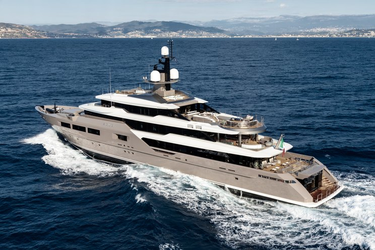 luxury yacht SOLO on a Mediterranean yacht charter