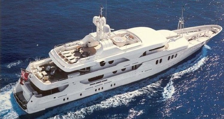 Mercury Yacht Aerial View