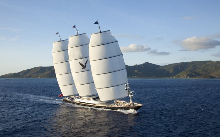 Superyacht 'Maltese Falcon' Offers Special June Rate in the