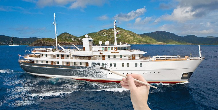 M/Y SHERAKHAN Undergoing Exciting Refit
