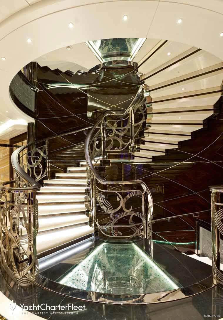 Luxury Yacht Engine Room: Fincantieri Luxury Yacht Charter