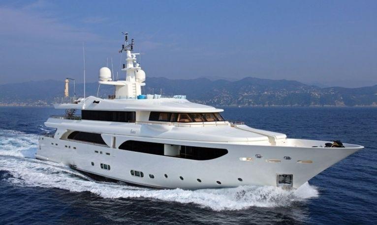Monaco Grand Prix charter special: last-minute availability for  43m motor yacht HANA