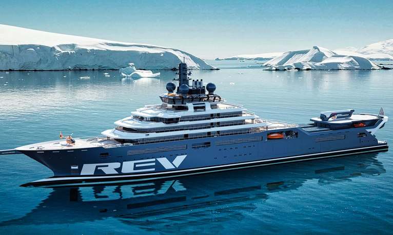 World's largest yacht REV OCEAN optimistic for 2024 delivery