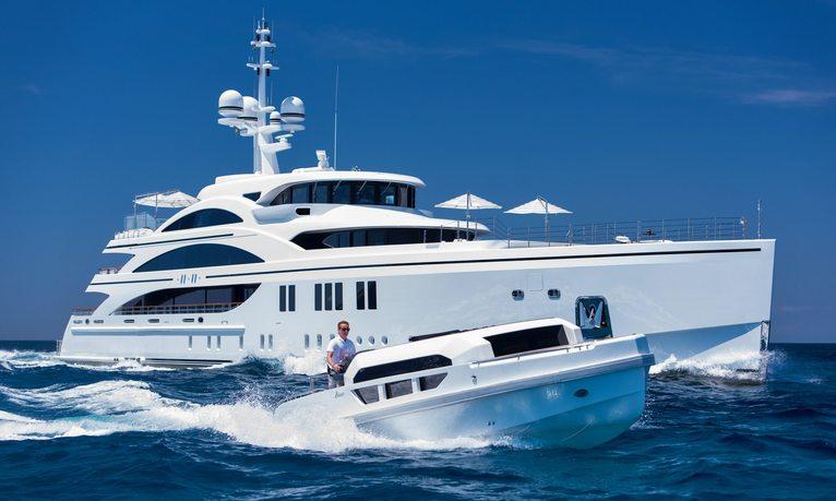 Impressive 63m motor yacht 11/11 offers late summer charter in Croatia