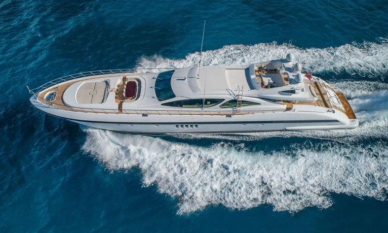 Freshly refitted 40m motor yacht JOMAR joins Caribbean charter fleet